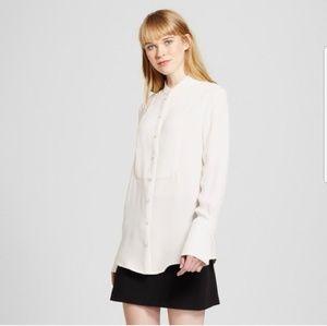 Victoria Beckham Target white button down blouse M